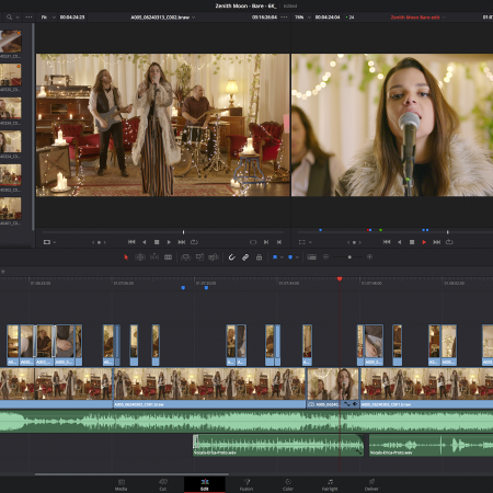 SIRT DaVinci Resolve 16 - Editing a Video